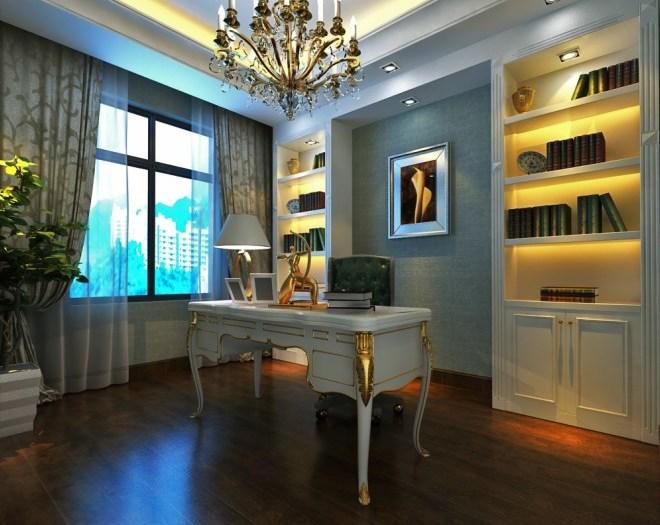 新古典风格-148平米四居室-装修样板间