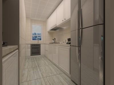 后现代风格-81平米二居室装修样板间