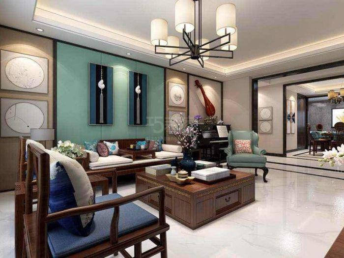 中式风格-213平米四居室-装修样板间