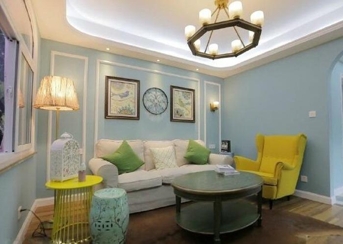简美风格-66平米一居室-装修设计