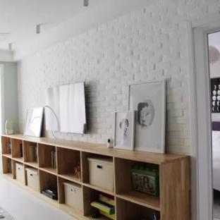 北欧风格三居室客厅装修效果图