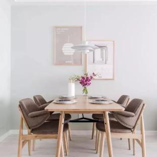 北欧风格三居室餐厅装修效果图