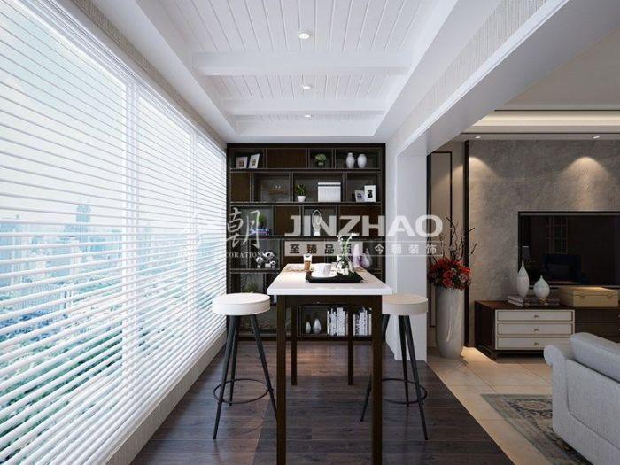 现代简约-149平米三居室-装修样板间