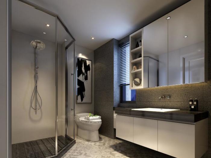 现代简约-140平米四居室-装修样板间