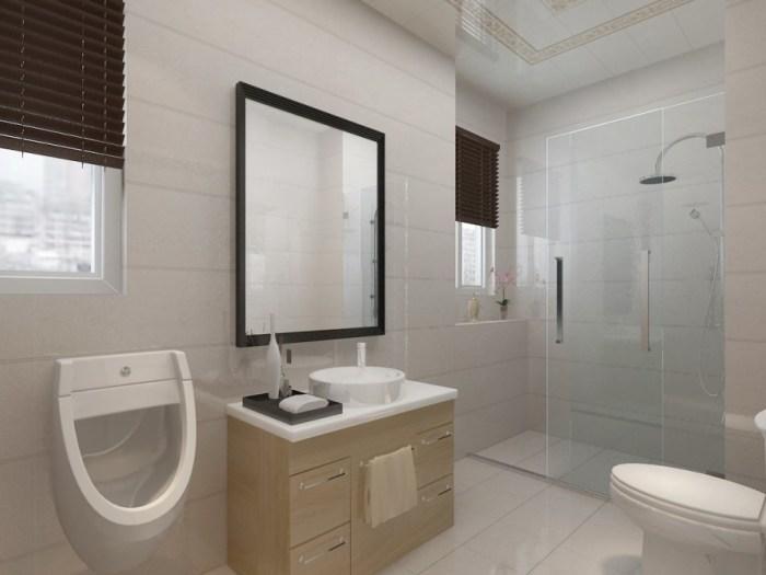 现代风格-175平米三居室-装修样板间