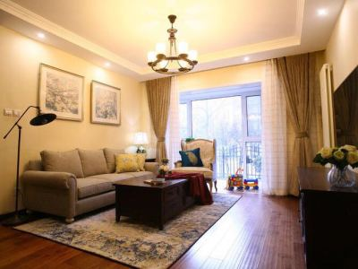 美式风格-0平米三居室装修样板间