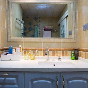 地中海风格三居室厨房装修效果图