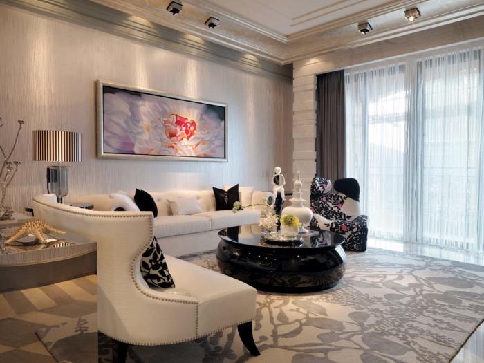 新古典风格-129.58平米四居室-装修样板间