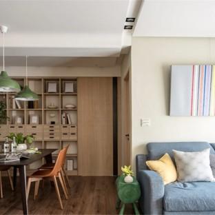 日韩风格二居室装修效果图