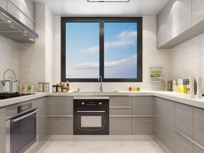 现代简约-106平米三居室整装-装修样板间