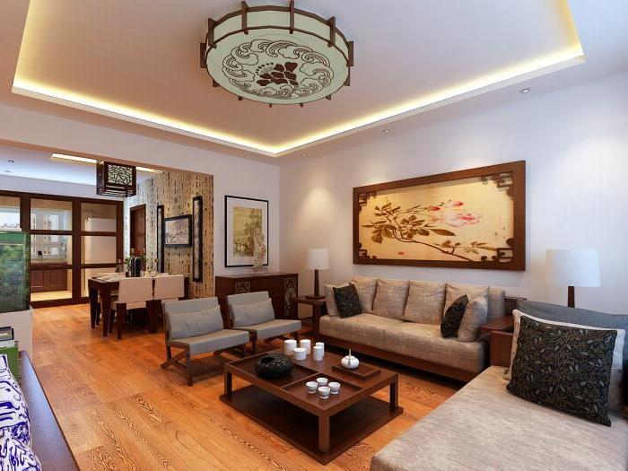中式风格-90平米二居室-装修样板间