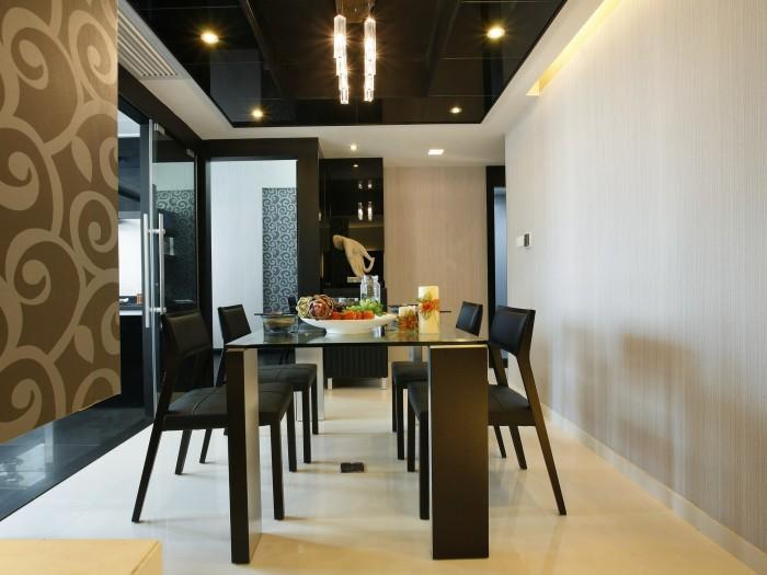 现代简约-130平米三居室整装-装修样板间