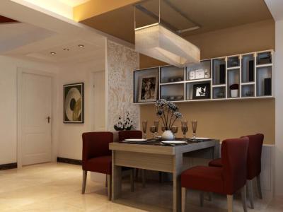 现代简约-130平米四居室装修样板间