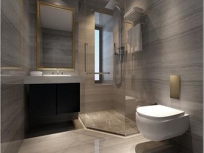 中式古典-139.39平米四居室装修样板间