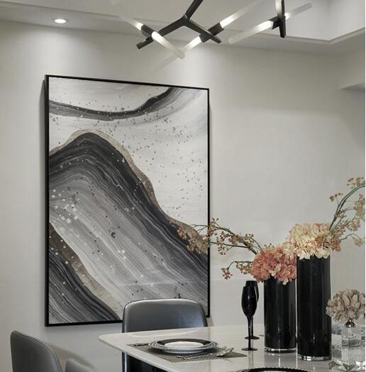 现代简约-125.03平米三居室-装修样板间