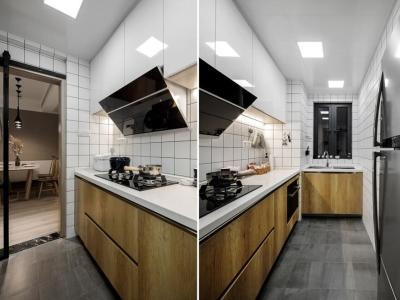 现代简约-125.03平米三居室装修样板间