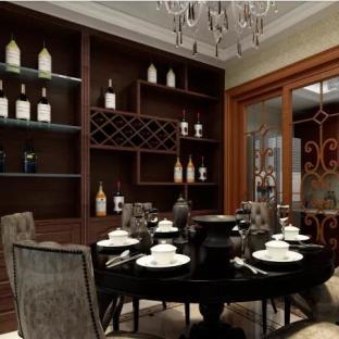 简欧风格五居室餐厅装修效果图