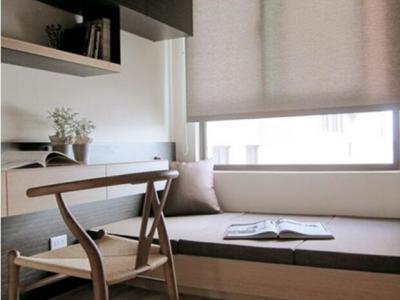 现代简约-93平米三居室装修样板间
