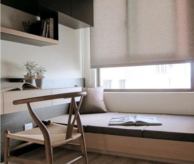 现代简约-93平米三居室-装修样板间