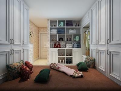 美式风格-174.13平米四居室装修样板间