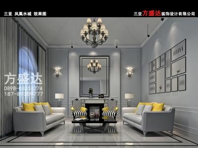 现代简约-420平米别墅装修样板间