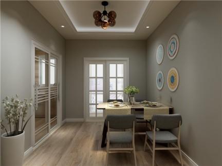 现代简约-106平米三居室整装装修样板间