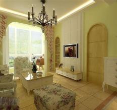 67平米现代简约风格设计装饰实景案例