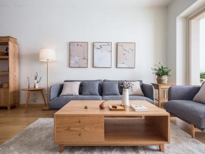 欧美风情-89平米三居室装修样板间