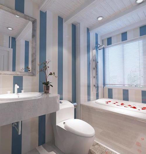 简美风格-118平米二居室-装修样板间