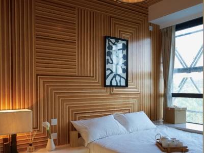 现代简约-93平米二居室整装装修样板间