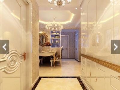 欧美风情-102平米三居室装修样板间