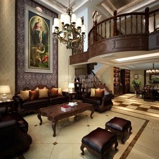 新古典风格五居室装修效果图