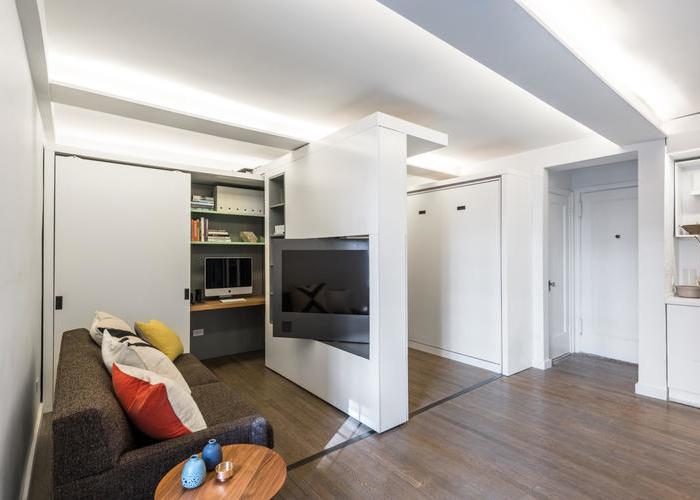 现代简约-37平米一居室-装修样板间