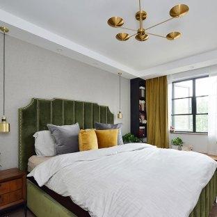 混搭风格三居室卧室装修效果图