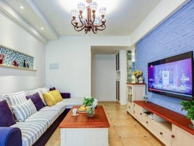 地中海风格-60平米一居室装修样板间