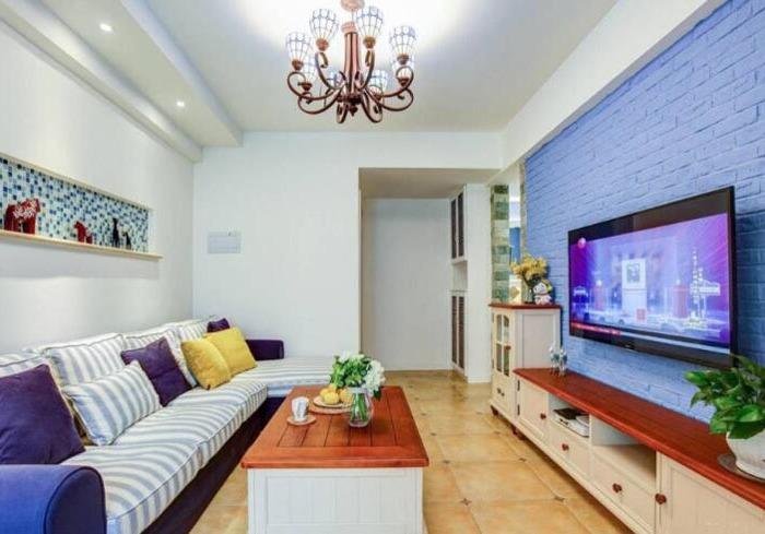 地中海风格-60平米一居室-装修样板间
