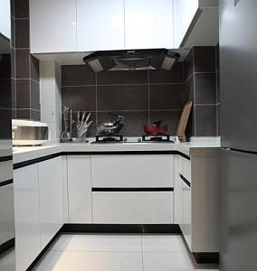 现代简约-120平米三居室整装装修样板间