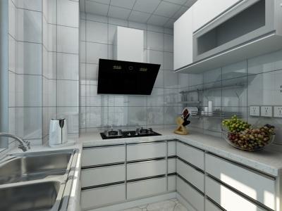 简美-98平米三居室装修样板间