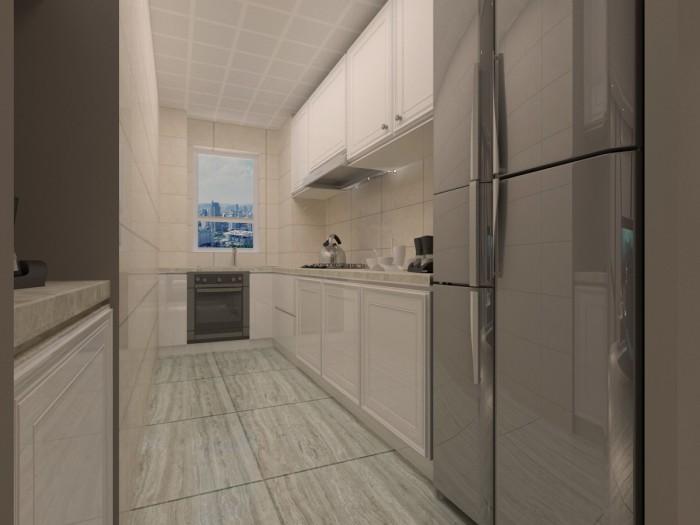 后现代风格-81平米二居室-装修样板间
