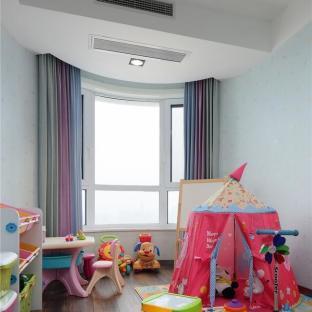 新中式风格三居室儿童房装修效果图