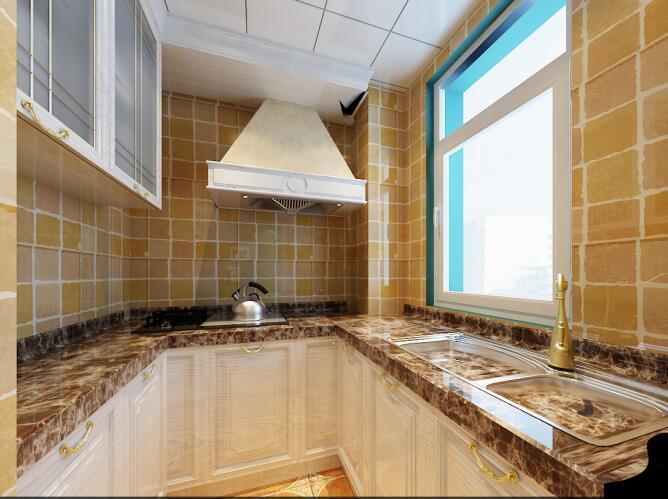 地中海风格-40平米一居室-装修样板间