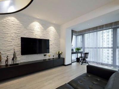 现代简约-66平米一居室装修设计