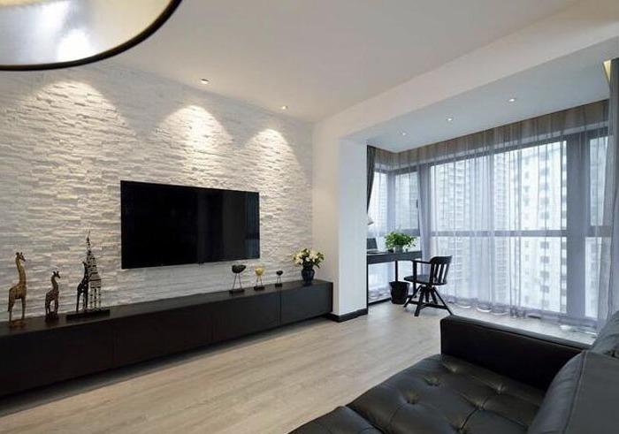 现代简约-66平米一居室-装修设计