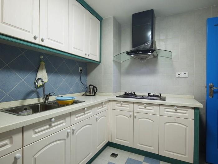 地中海风格-84.18平米二居室-装修样板间