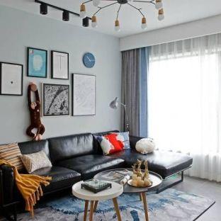 北欧二居室装修效果图