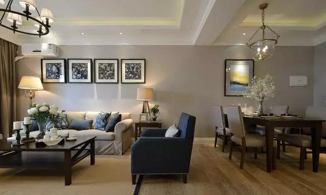 现代简约-99平米三居室-装修样板间