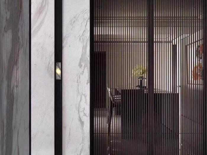 现代简约-125平米三居室-装修样板间