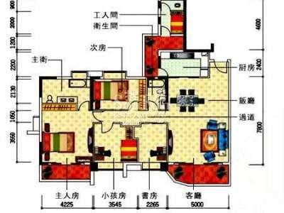 现代简约-94平米二居室装修样板间