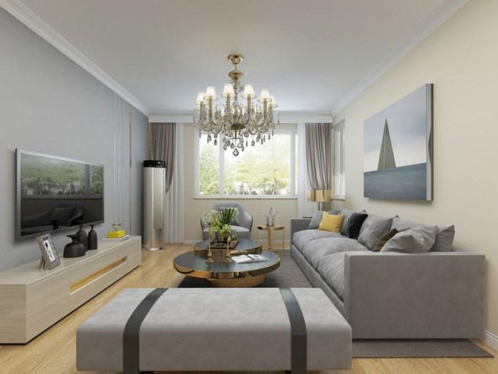 现代风格-126平米四居室-装修样板间