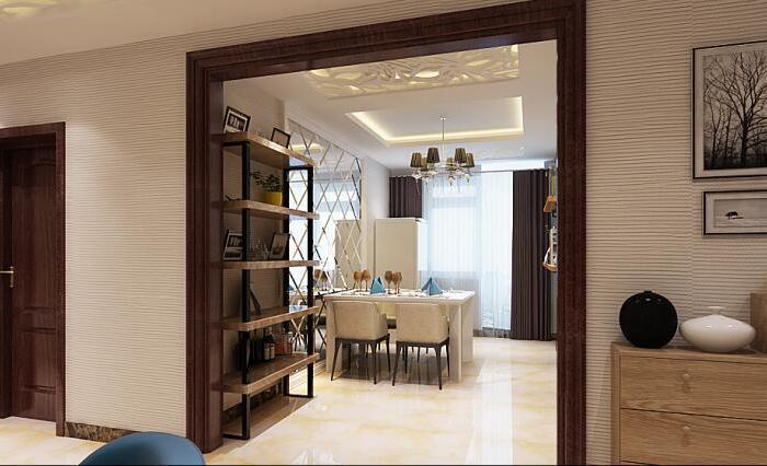 现代简约-150平米五居室-装修样板间
